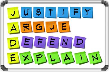 JADE - J.A.D.E: Justify, Argue, Defend or Explain